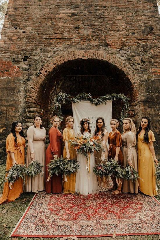 Образы для свадьбы в стиле бохо