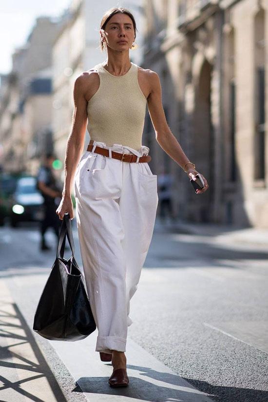 Модные женские летние брюки
