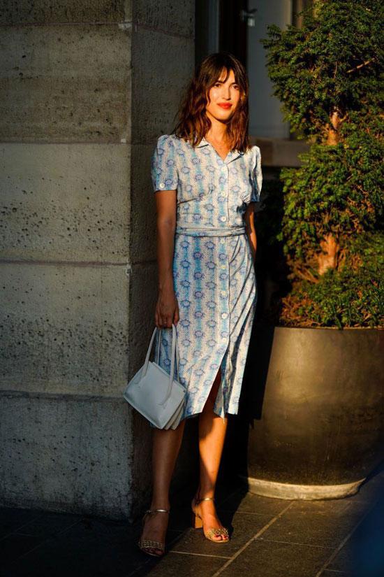 Легкое платье на дето 2020 в парижском стиле