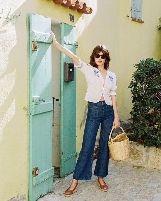 Какие джинсы носить летом 2020 для парижского стиля