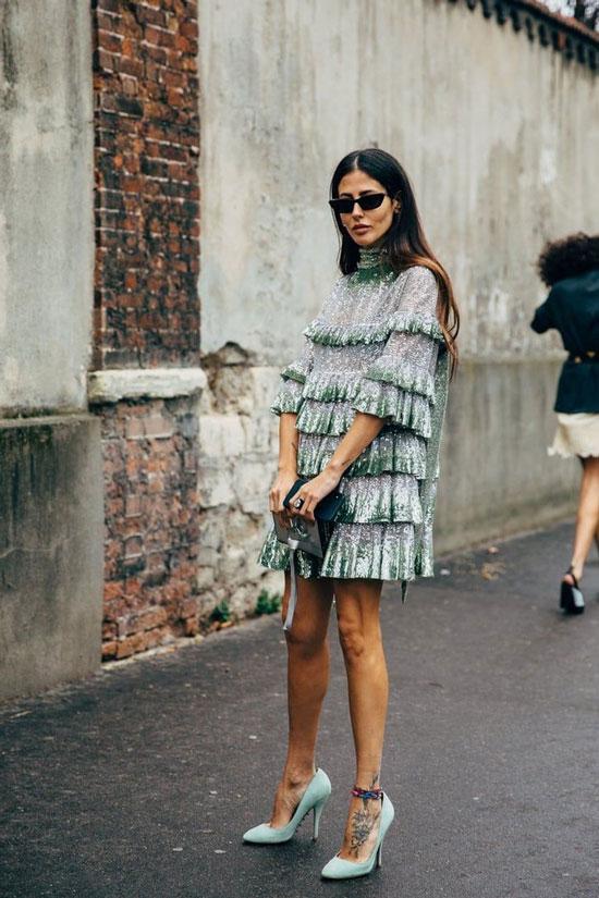 Элегантное мини-платье на лето 2020
