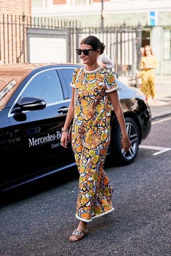 Свободное платье для женщин на лето 2020