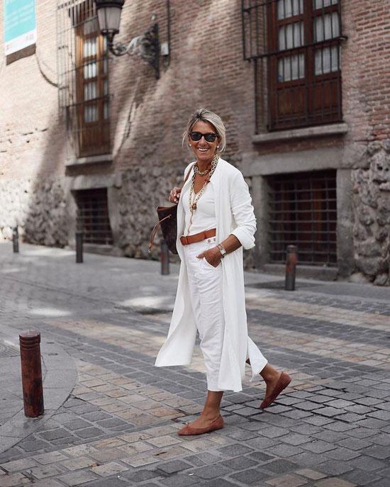 Летние брюки для 50-летних женщин