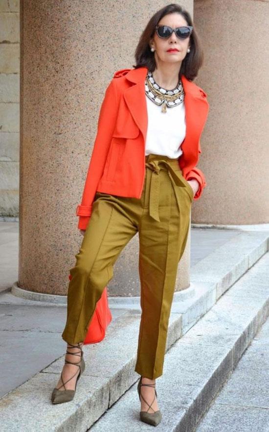 Модные летние брюки для женщин после 50