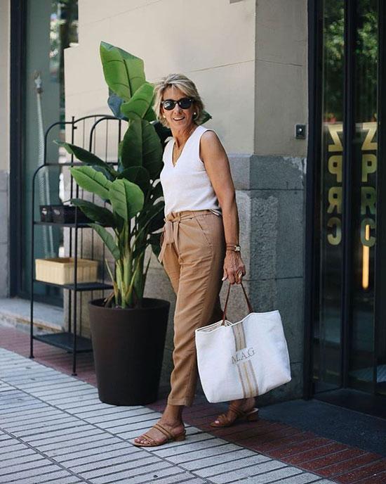 Какие брюки на лето выбрать женщине за 50