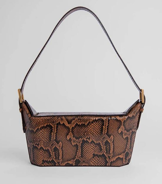 Модная сумка под змею на лето 2020