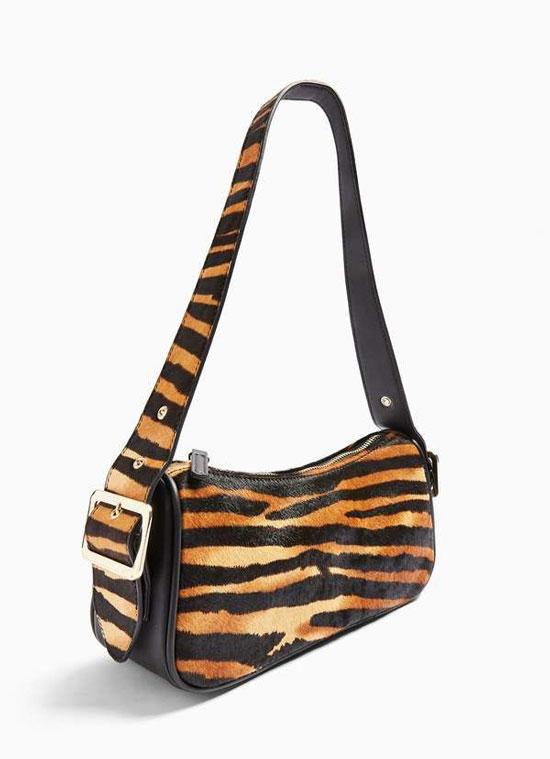 С чем носить сумку с животным принтом