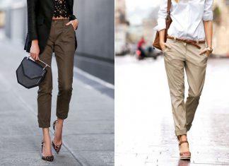 С чем носить брюки чиносы летом 2020: 10 идей для комфортного и легкого образа