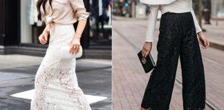 Как носить кружево, чтобы выглядеть женственно и романтично. Копируй эти образы