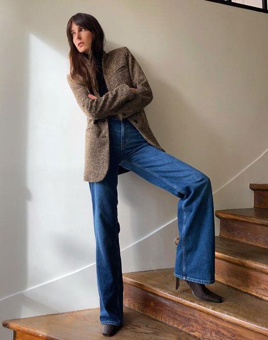 Одежда из масс-маркета на фешн-блогерах из Франции