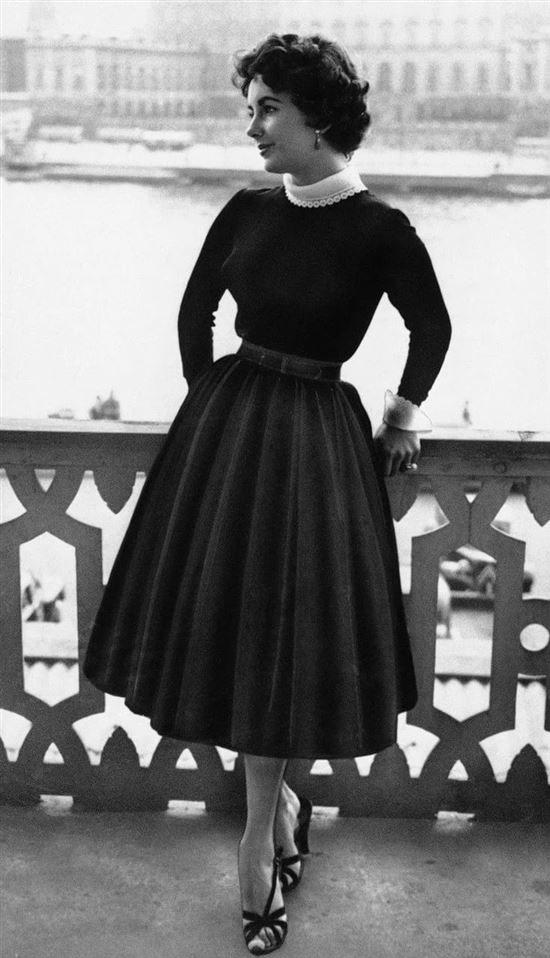 Модные женские юбки 50-х годов