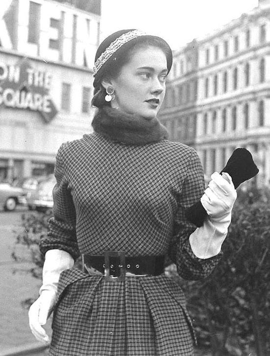 Как выглядели женщины в 50-е годы