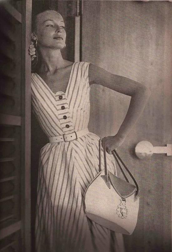 Модные аксессуары 50-х годов