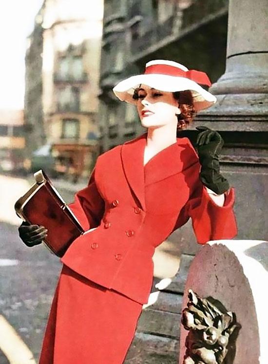 Модные наряды 50-х годов
