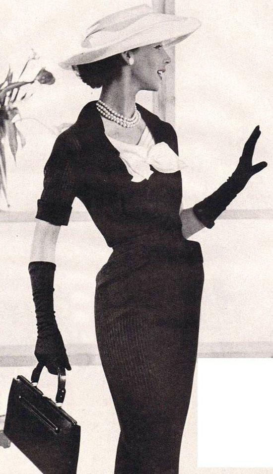 Как выглядела женская одежда в 50-е годы