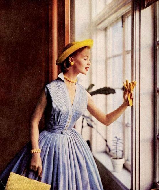 Какой была женская мода 50-х годов