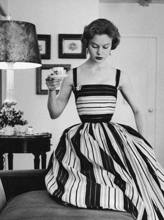 Как одевались в 50-е годы