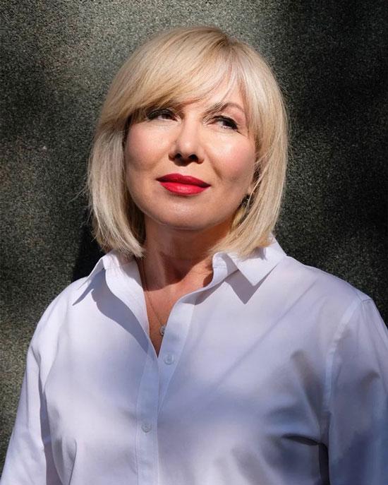 Стрижки на короткие волосы для женщин 50 лет