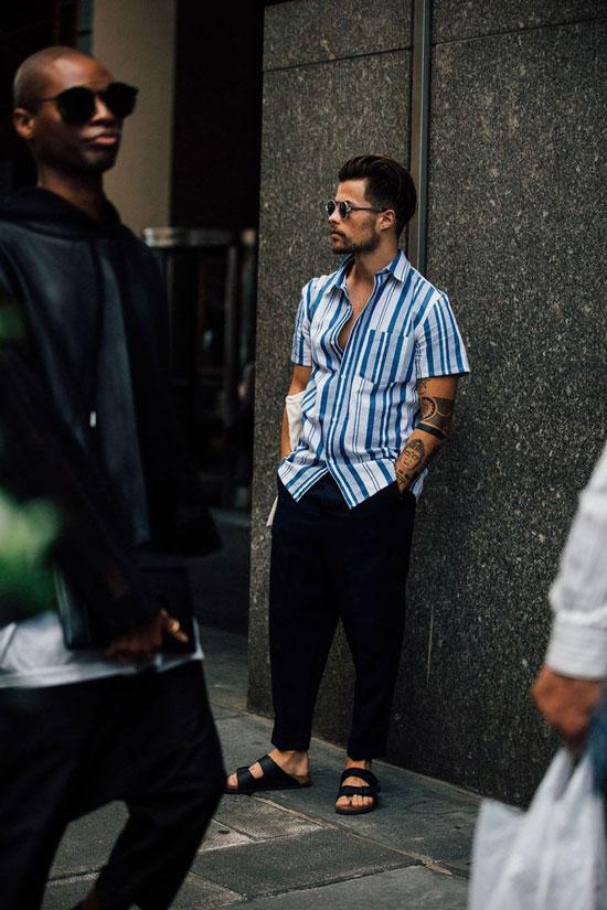Модные летние образы для мужчин 2020