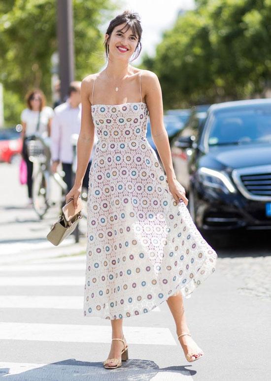 Платья из легких тканей на лето 2020