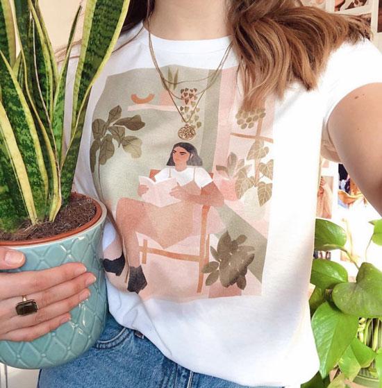 Модные в инстаграме футболки с принтами