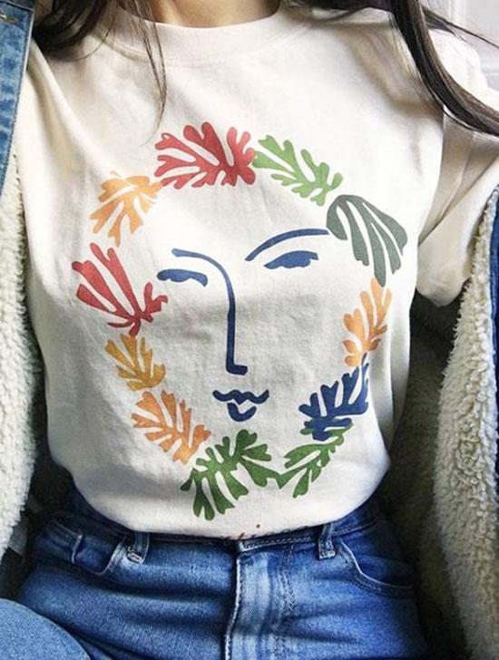 Модные инстаграмные футболки 2020
