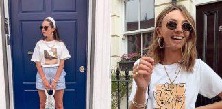 Футболками с такими принтами завален Instagram: 4 популярные модели этого лета
