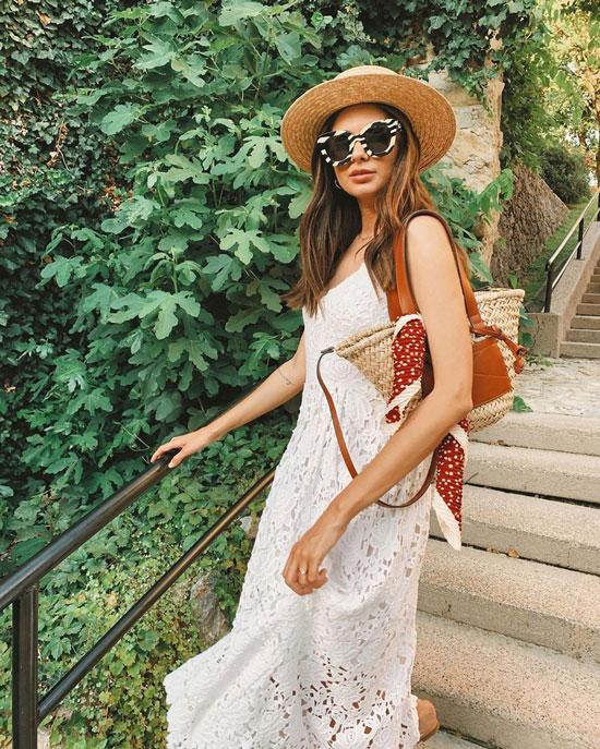Модная соломенная сумка Loewe Basket на лето 2020