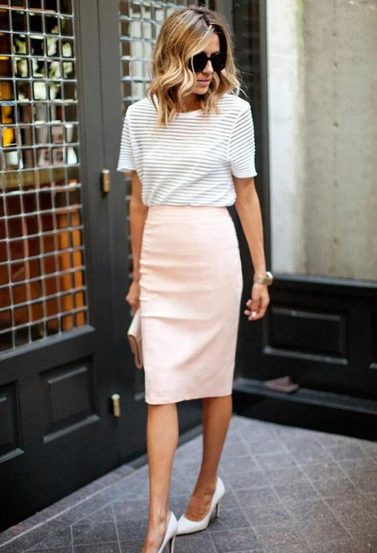Как стильно носить юбку-карандаш в 2020 году