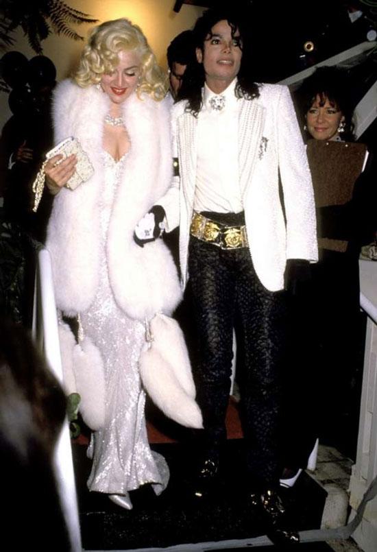 Мадонна в образе Мерилин Монро на церемонии Оскар