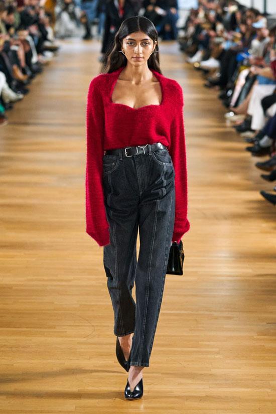 Какие джинсы в моде осенью 2020