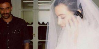 Ким Кардашьян поделилась архивными фотографиями с примерки своего свадебного платья