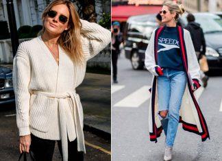 Модные женские кардиганы: как носить прохладными осенними деньками
