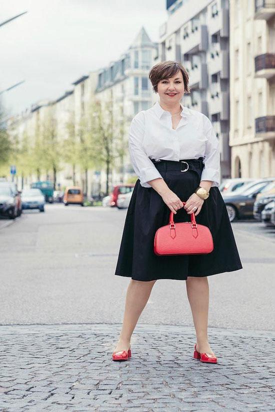 Юбки для полных женщин 50 лет на лето 2020