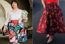 Юбки-миди для полных женщин за 50: стильные фасоны на лето 2020