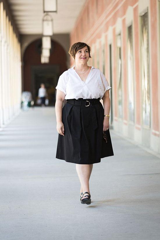 Летние юбки для полных женщин 50 лет