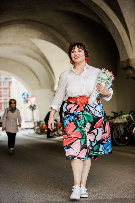 Модные юбки на лето 2020 для полных женщин за 50
