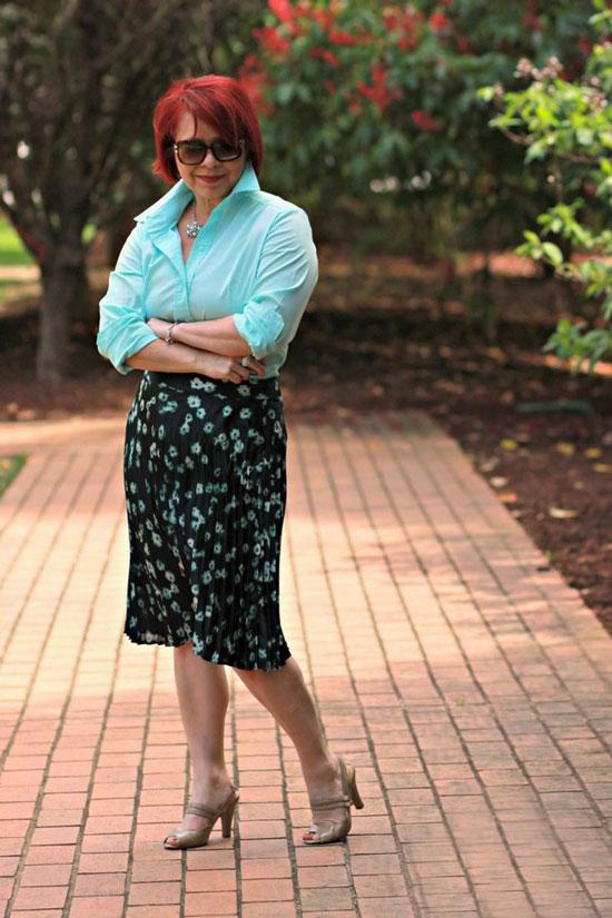 Модные юбки летом 2020 для полных дам 50 лет