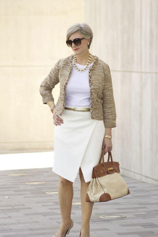 Модные летние юбки для полных женщин 50 лет