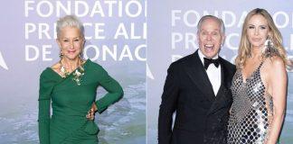 Принцесса Монако, Хелен Миррен, Томми Хилфигер и другие звезды на балу в Монте-Карло