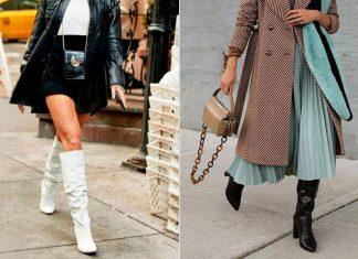 Как сочетать юбку и сапоги правильно: 3 совета преображающих образ