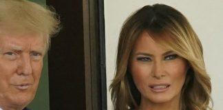 Мелания Трамп в платье за колоссальные $3700 и белых лодочках выглядит стройно