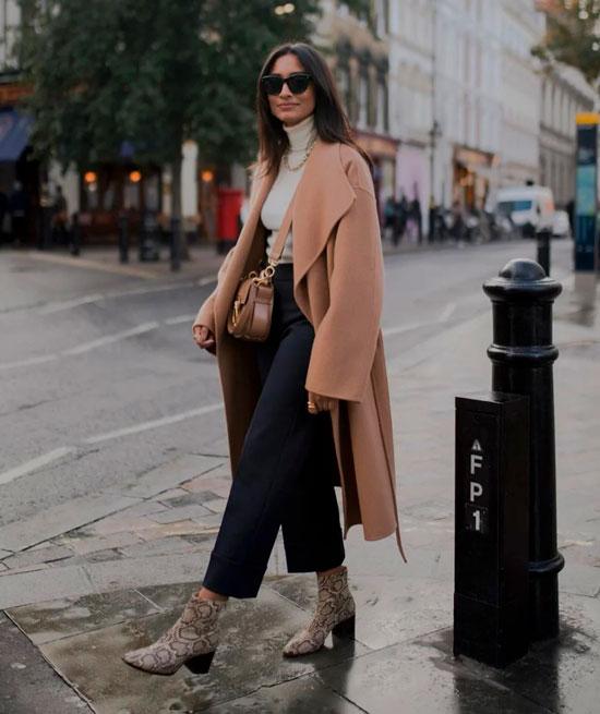 Женские прямые классические брюки на осень 2020