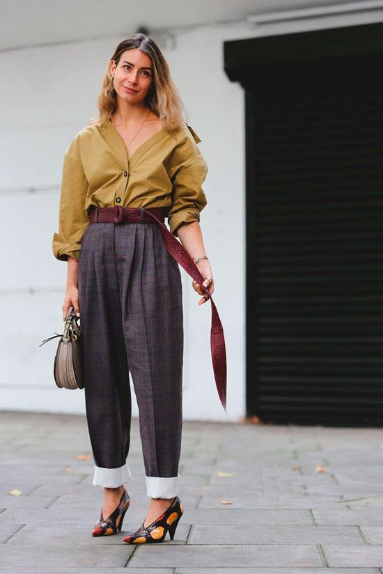 С чем носить женские брюки осенью 2020