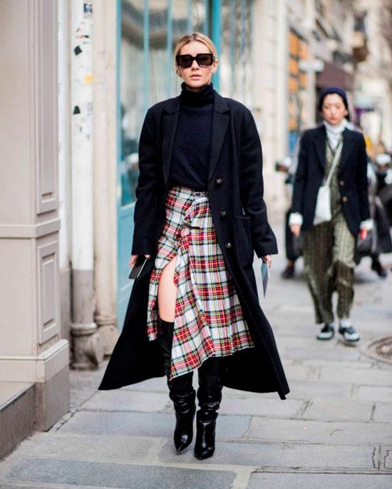 Модные миди-юбки на осень 2020