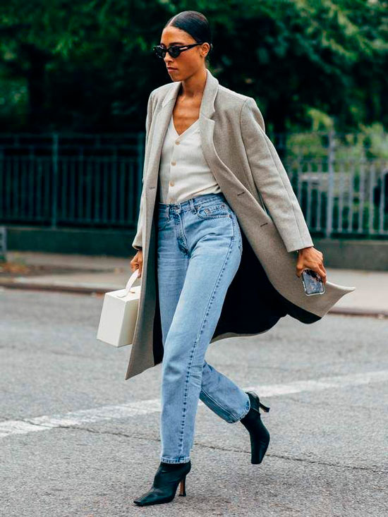 С чем можно носить джинсы осенью 2020