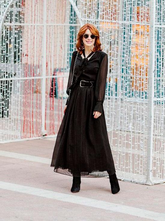 Модные платья для женщин 50 лет на осень 2020