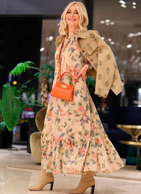 Модные осенние платья для женщин 50 лет