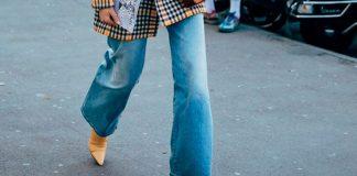 Как носить модные широкие джинсы осенью 2020 и выглядеть женственно