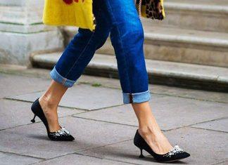 Туфли на маленьком каблуке: самая удобная и стильная обувь этой осени